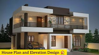 Small Budget Double Floor House 1200 Sqft | Cute Small Double Floor House Design #housedesign #home