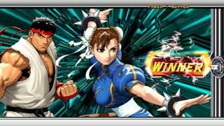 Tatsunoko vs Capcom  Ultimate All-Stars ~ Ryu & Chun li 【TAS】