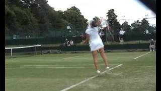 Abigail Spears in Wim qualies 2009 2