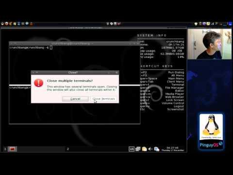 Crunchbang Linux: Lightweight Debian based Linux Distribution