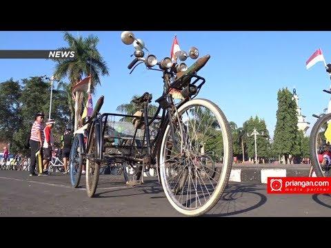 Ontel Roda Lima Meriahkan Parade Sepeda Hias Youtube