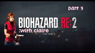 BIOHAZARD RE:2 - part 3 shanking zombies!