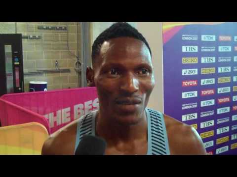 Isaac Makwala Talks About His London 200 Final and His Ordeal