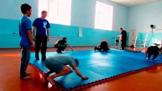 первая тренировка по самбо