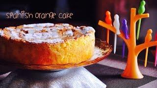 Spanish Orange Cake with Almonds   Gluten Free Fatless Cake  Recipes