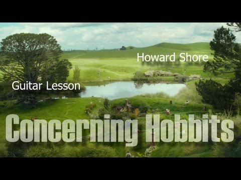 Concerning Hobbits - Guitar Lesson - YouTube