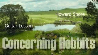 Concerning Hobbits - Guitar Lesson