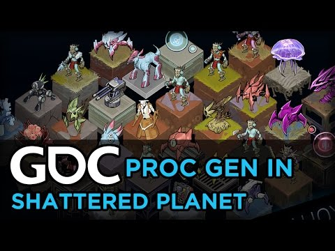 Procedural Generation in Shattered Planet