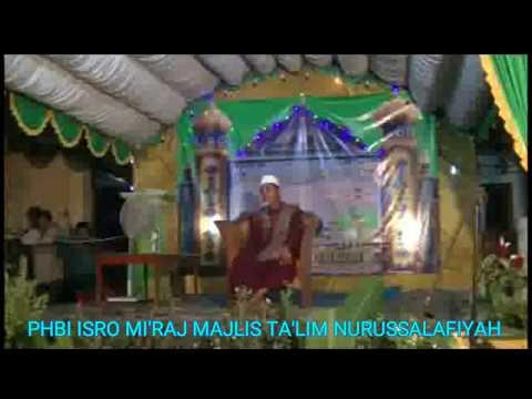 KH.Asy'ari Serang Banten#ceramah isro mi'raj