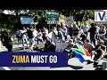 WATCH: Cape Town's southern suburbs call for Zuma to fall