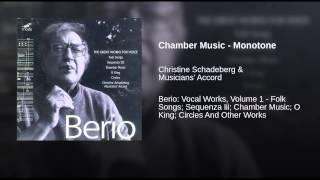 Chamber Music - Monotone