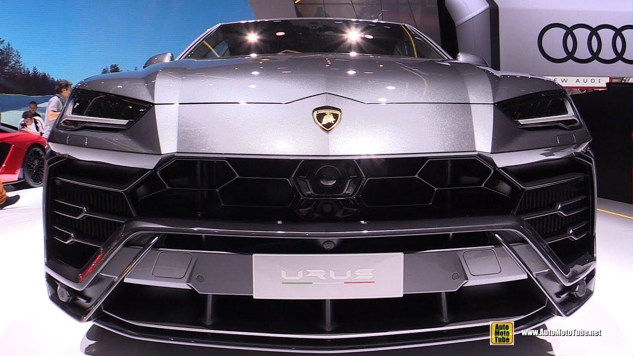 2018 Lamborghini Urus Exterior And Interior Walkaround 2018
