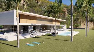 Modern Villas Designs: The Minimalist House  Jun. ´19