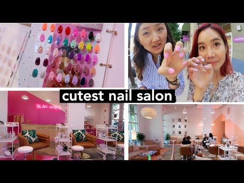UNICORN NAILS | Cutest Nail Salon in the Bay 💅