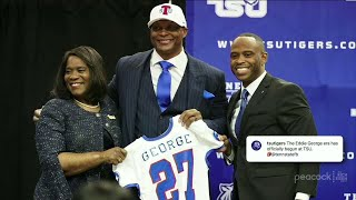 How Eddie George Became Head Coach Of THE Tennessee State | The Rich Eisen Show | 4/16/21