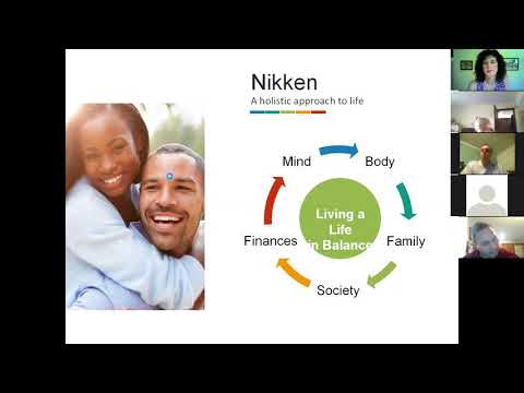 Nikken Product Showcase 8 24 17 with guest Tony Collins