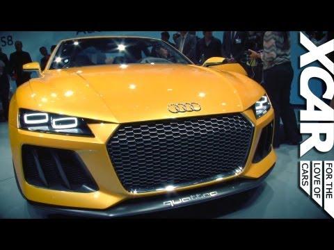 Frankfurt Motor Show 2013: Audi Sport Quattro Concept - XCAR