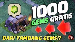 DAPATKAN 1000 GEMS GRATIS DARI TAMBANG GEMS! - Coc Indonesia