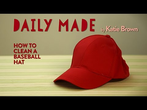 How To Clean A Baseball Hat- Daily Made on Yahoo Makers