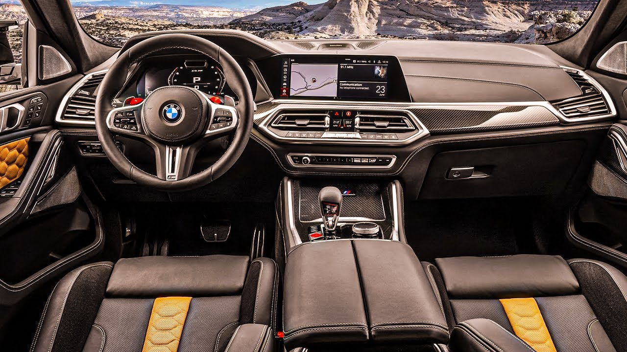 2020 Bmw X6 M Competition Bmw M Gmbh Interior