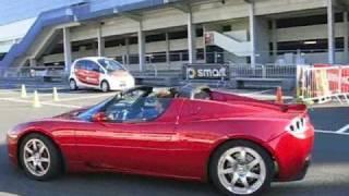 Tesla Roadster - test drive Portugues