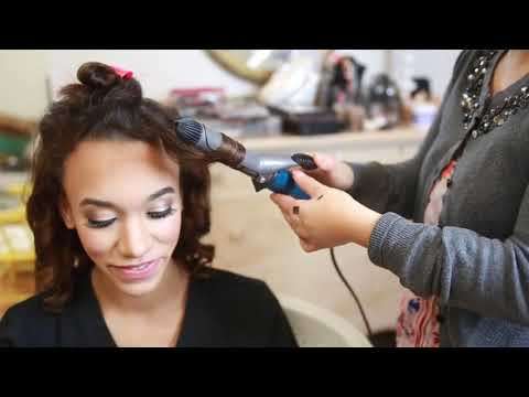 Boudoir Hair & Makeup - behind the scenes with Sandy Xiong Beauty