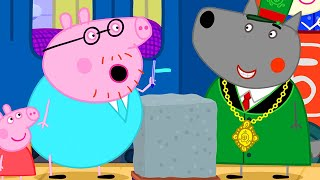 Peppa Pig Official Channel | Peppa Pig Wants to Know About Testing Concrete