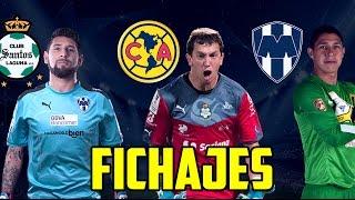 Jonathan Orozco a Santos - Hugo Gonzales Monterrey - Marchesin America