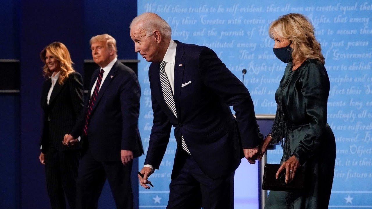 Trump 'dragged Joe Biden into the gutter with him' in first presidential debate