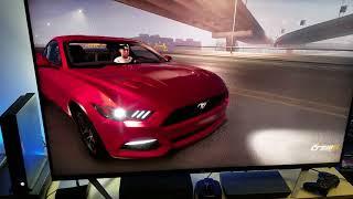TCL 55R617   Testing The CREW 2 / Open BETA : Xbox One X Enhanced