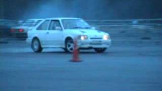 Escort RS Turbo Cosworth Antilag Drift SANTAPOD OddKidd Creations REAR WHEEL DRIVE DRIFTING Mk4