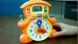 Vtech 「learning Time Cuckoo Clock」のactivityモード
