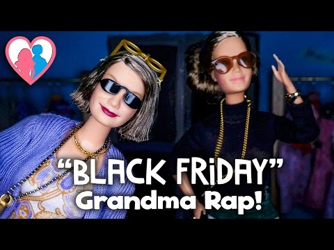 """Black Friday"" Grandma Rap! - HappyFamilyShow"
