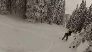 aljo hozi s first ever freeride uršlja gora 2013