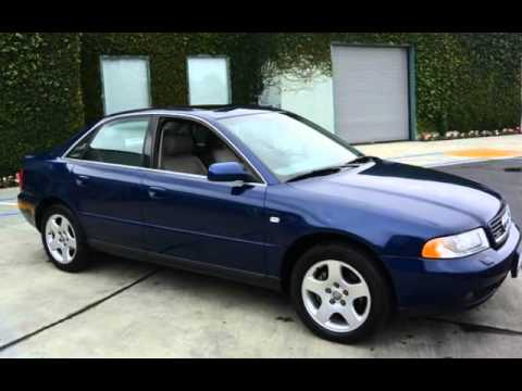 2000 Audi A4 2.8 quattro for sale in REDWOOD CITY, CA - YouTube
