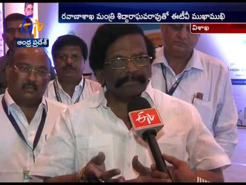 ETV Interview With Minister Sidda Raghava Rao Over Road Safety issue
