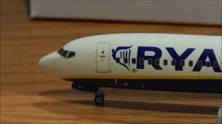 Gemini Jets (?) Ryanair Boeing 737-800 1/200 Scale
