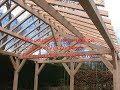 Un carport en mélèze - Making a larch carport Part 1