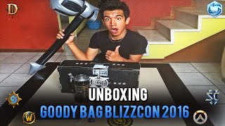 Unboxing Goody Bag Blizzcon 2016