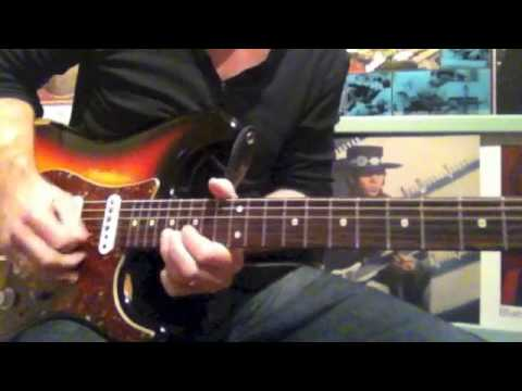 Testify - Stevie Ray Vaughan (Slow/Fast Lesson)