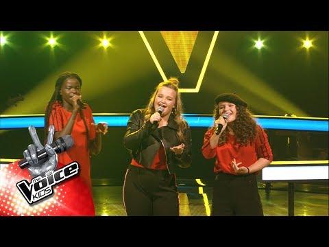 Mamy, Lauren & Emma - 'Rain' | The Battles | The Voice Kids | VTM