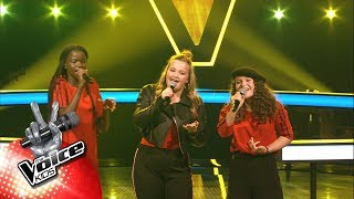 Mamy, Lauren & Emma - 'Rain' | The Battles | The Voice Kids | VTM