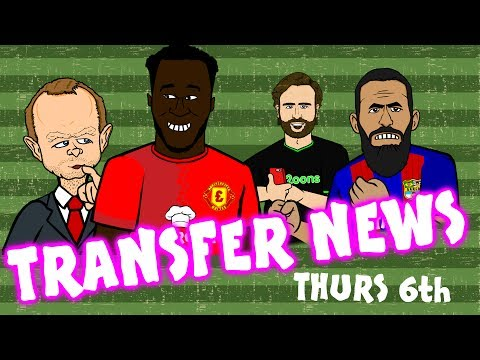 LUKAKU to MAN UTD? Turan stays! Morata to MAN UTD?  TRANSFER NEWS #12 July 6th