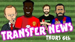 LUKAKU to MAN UTD? Turan stays! Morata to MAN UTD?  TRANSFER NEWS #12 July 6th