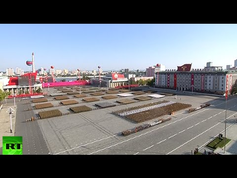 Thumbnail: North Korea marks anniversary of ruling party with military parade