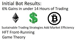 Bot Operational: Results Postive, How to Protect Against High Frequency Traders and Game Theory