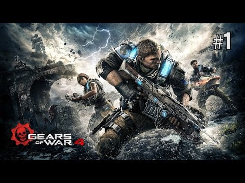 Twitch Livestream | Gears Of War 4 Part 1 [Xbox One]