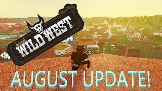 The Wild West Roblox Update BEST UPDATE EVER!!