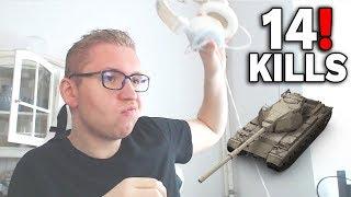KOLEŚ ROZWALIŁ SYSTEM !!! - World of Tanks