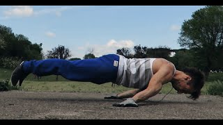 Andrea Larosa. Planche and Handstand training.